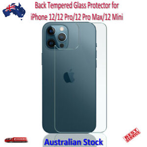 Back Tempered Glass Protector for iPhone 12 / 12 Pro / 12 Pro Max / 12 Mini