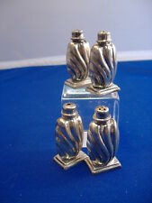 4 MATCHED OLD MEXICO SALT & PEPPER SHAKERS