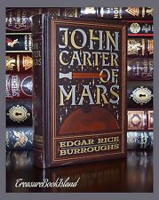 John Carter of Mars by Edgar Rice Burroughs New Sealed Leather Bound Collectible