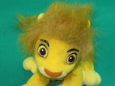 Disney Original Lion King 2002 Simba Cub Soft Floppy Beanbag Plush Stuffed Anima