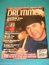 MODERN DRUMMER - ANTON FIG - JUNE 2002