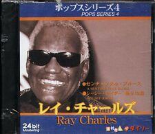 Ray Charles - POPS SERIES 4 - Japan CD - NEW - 12Tracks 24Bit