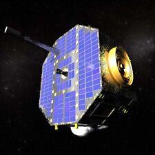 IBEX Satellite Spacecraft Mahogany Wood Model Large New