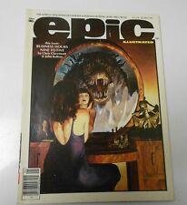 1983 EPIC ILLUSTRATED #18 Kent Williams FVF