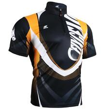 FIXGEAR BM-5802 Men's Sports Tee 1/4 Zip-Up Graphic Shirts Tennis Golf Training