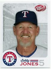 2014 Texas Rangers Dr. Pepper Rangers Bobby Jones Postcard SGA