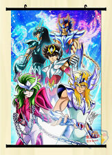 Saint Seiya Pegasus Seiya Cygnus Hyoga Home Decor Wall Scroll Poster Japanese