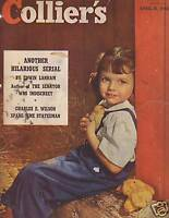 1948 Colliers April 10 - Circus Skethces;Charles Wilson