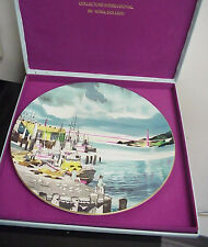 "Vintage Royal Doulton 10 1/2"" 1975 Fishermans Wharf Collector Plate Es-14-Ee"