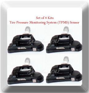 Set of 4 Pcs TPMS Tire Pressure Monitoring System Sensor Fit:Mercedes & Smart