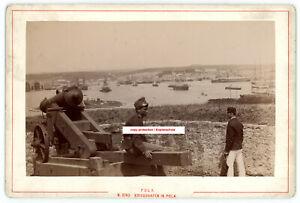 K.u.k. Foto Kriegshafen Pola,Kriegsmarine,Soldat,kuk photo naval port pula,navy