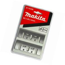 Makita D-16346 – Lot de 2 lames HSS type blister 82 millimètres pour rabots 1100