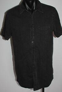 Quiksilver Button Up Short Sleeve Shirt Men's Size Small BNWT Dress