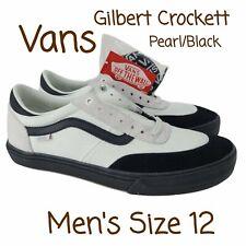 VANS GILBERT CROCKETT PRO 2 SHOES PEARL BLACKVN0A38COW7U New BMX Larry Edgar 12