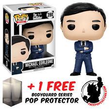 FUNKO POP GODFATHER MICHAEL CORLEONE VINYL FIGURE + FREE POP PROTECTOR