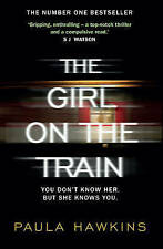 The Girl on the Train by Paula Hawkins - Large Paperback 20% Bulk Book Discount