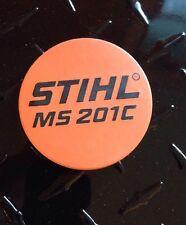 STIHL Chainsaw Rewind Starter Cover Model Plate ID Emblem Badge  MS201C