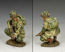 101st Airborne Crouching Tommy Gunner DD286-2 King and Country D-Day '44