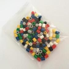 140 un. Kit De Tapones De Colores Mezclados Botón Redondo para conmutadores A03 Pulsador