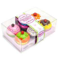 Scrumptious Cupcakes Kids Cooking Bakery Tea Party Wooden Toys Set