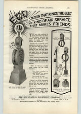1928 Paper Ad ECO Automatic Air Service Service Station Equipment Co Bryan OH