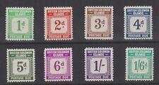 SOLOMON ISLANDS J1-8 Postage Dues mint