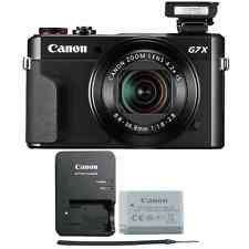 Canon G7X Mark II PowerShot 20.1MP Digital Camera (Black)