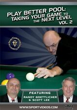 Play Better Pool DVD Vol. 2 - Taking Your Game to the Next Level - Billiards DVD