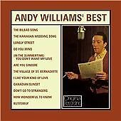CD ANDY WILLIAMS BEST BILBAO SONG BUTTERFLY LONELY STREET DO YOU MIND HAWAIIAN
