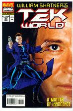 ♥♥♥♥ WILLIAM SHATNER'S TEK WORLD (TEKWORLD) • Issue 24 • Marvel Comics