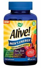 Nature's Way Viva Uomo Energy 60 Soft Jell Multi-vitaminico * VEGETARIANO *
