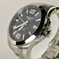 Longines Conquest Automatic Blue Dial L3.676.4.76.6 Wrist Watch for Men 39mm