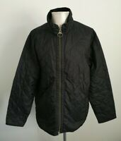 Mens Barbour Liddlesdale Sport Black Quilted Country Jacket - Size Large