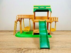 Sylvanian Families Garden Playground Swing Slide Tree House