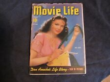 Vintage Movie life Magazine November,1941 Issue