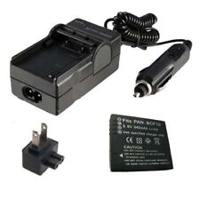 Battery&Charger for PANASONIC Lumix DMC-TS4 DMC-TS4K DMC-TS3 DMC-TS3R DMC-TS2
