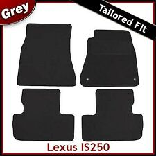 Lexus IS 200 220 250 Mk2 2005-2013 Fully Tailored Carpet Car Floor Mats GREY
