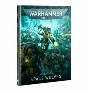Codex: Space Wolves - Warhammer 40k - Brand New! 9th Edition