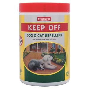 Multicrop Keep Off Dog and Cat Repellent for Garden Beds, Paths and Patios 400g