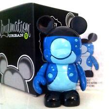 "DISNEY VINYLMATION 3"" URBAN SERIES 5 BLUE LAVA LAMP GROOVY MICKEY MOUSE FIGURE"