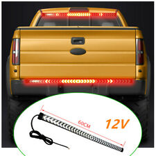 Car Tailgate LED Signal Brake Light Turn Reverse Lamp Bar Streamer Waterproof
