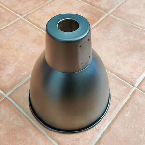 Black Ceiling Pendant Light Shade Reflectors [2 Pack] Industrial Warehouse Lamp