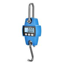 Portable Industrial Mini Digital LCD Crane Scale Heavy 300kg Electronic Hook AU