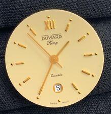 Duward King Cal. Eta 956.124 Quartz Vintage 22,5 mm Pas Fonctionne pour Pièces