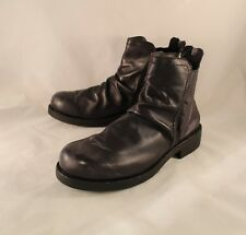 NIB Dabliu Sharpie Style Italian Ankle Boots Black Mens 9.5 M $139