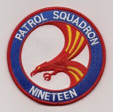 USN VP-19 BIG RED patch MARITIME PATROL SQUADRON