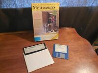 MY SOFTWARE CO. MY TREASURES WITH BOX AND DISKS FREE SHIPPING
