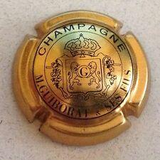 Capsule de champagne GUIBORAT M. (14. or et noir)
