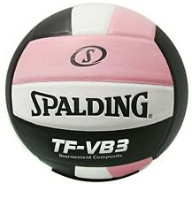 Spalding TF-VB3 Tournament Composite Volleyball Pink White Black Free Shipping