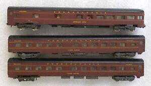 3 Atlas Pennsylvania Passenger Cars - N scale